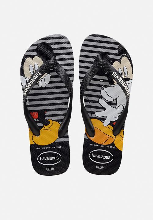 916b15f83 Disney stylish flip flops - grey   black Havaianas Sandals   Flip ...
