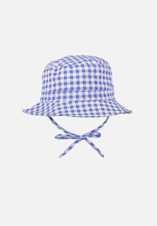 7c6773e6 Kids bucket hat - blue gingham Cotton On Accessories   Superbalist.com
