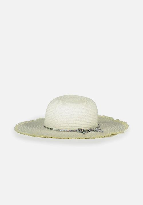 Floppy hat - vanilla rainbow Cotton On Accessories  c45acae021c