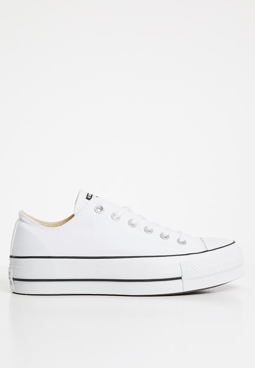 31e2e6229f32 Chuck Taylor All Star Lift - OX - White - Canvas Converse Sneakers ...
