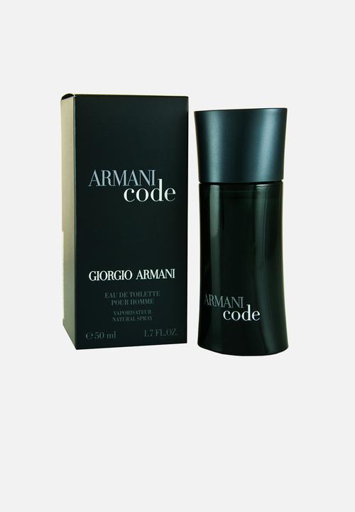 Armani Code M Edt 50ml Sprayparallel Import Giorgio Armani