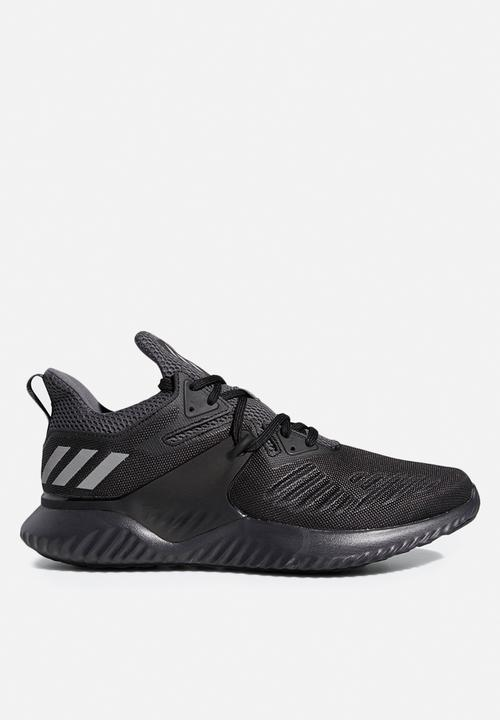 on sale 07063 11395 adidas Performance - Alphabounce beyond - black, white   carbon