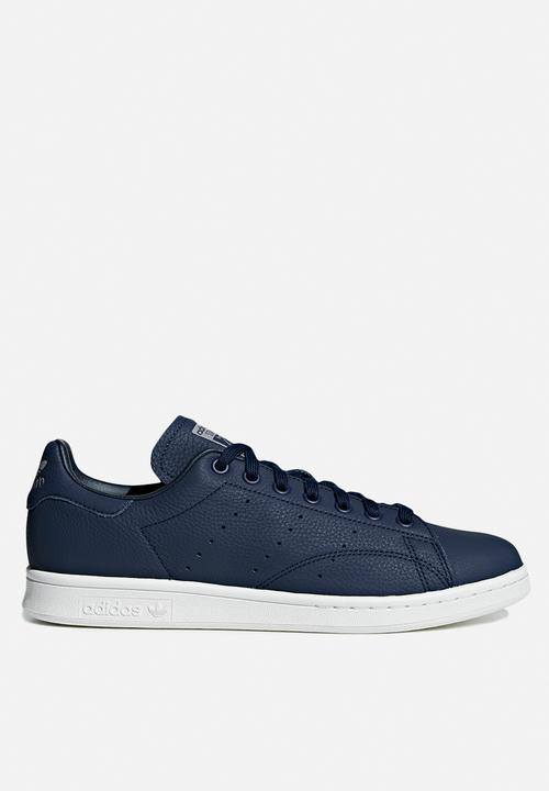 adidas Originals - Stan Smith - collegiate navy - crystal white   grey aaaf4ad2bc