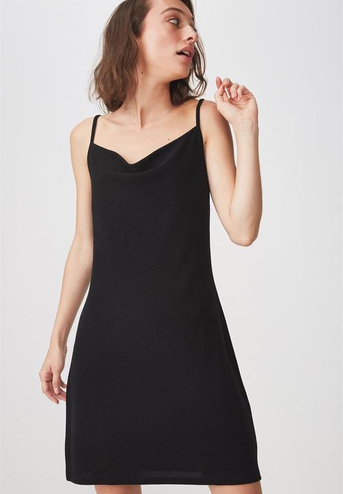 4f354faaa9f Cowl Neck Mini Dress Black Cotton On Casual Superbalist
