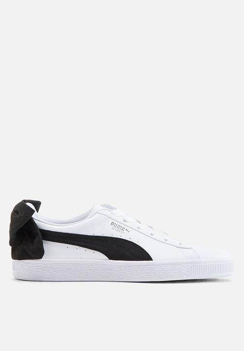 Basket bow - 367353 03 - black and white PUMA Sneakers  d8f893a53