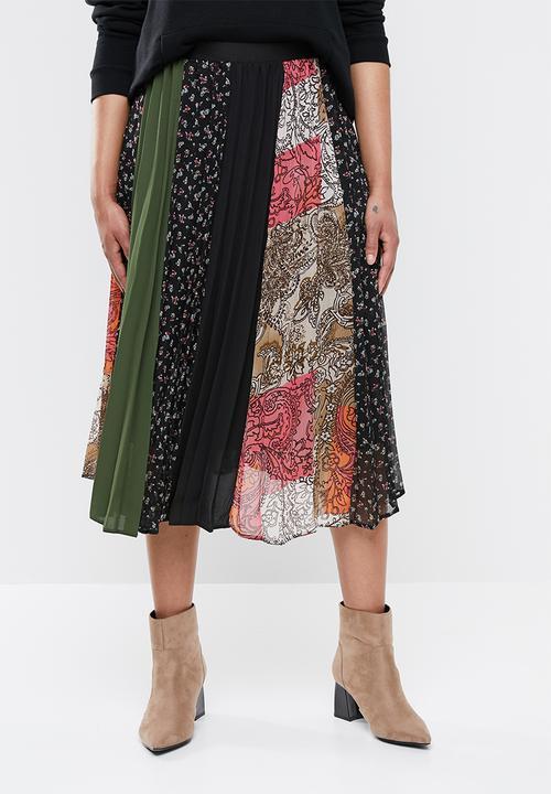 b572faaeac Mix print pleated skirt - multi Superbalist Skirts | Superbalist.com