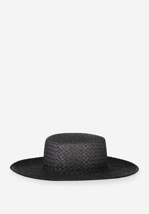 Wide brim boater - black Cotton On Headwear  232ca6220eaf