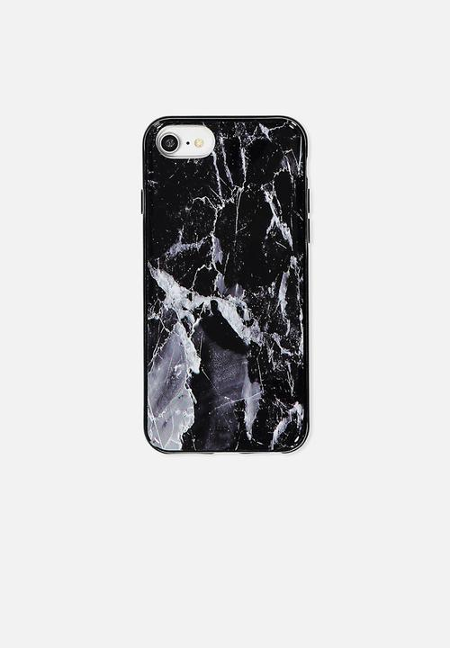 best authentic ece9a c5ad3 Transparent iPhone cover - black