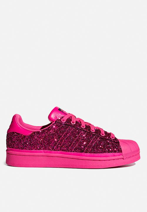 sale retailer 3f602 f0a32 adidas Originals - Superstar W - shock pink collegiate purple