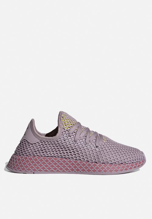 new product fa484 d92da adidas Originals - Deerupt Runner W - soft visiontrace maroonshock yellow