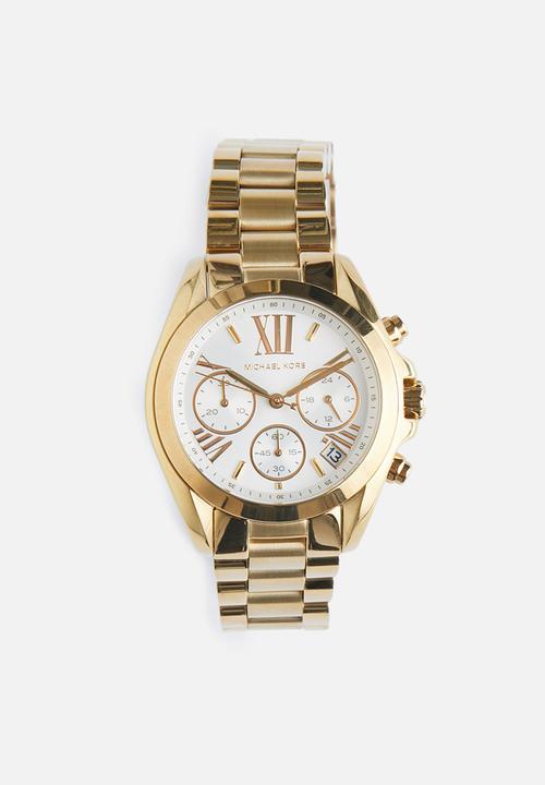 05a582a9d4dfe7 Michael kors mini bradshaw women - gold Michael Kors Watches ...