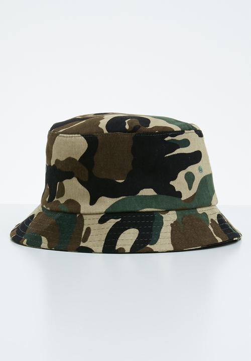 30ab955aaeebd Camouflage bucket hat - multi Superbalist Headwear