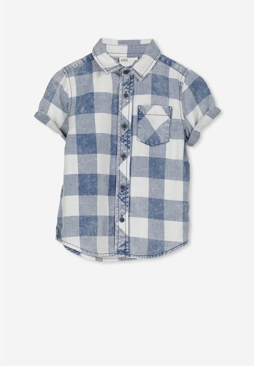 5e44ad5d525 Jackson short sleeve shirt - blue