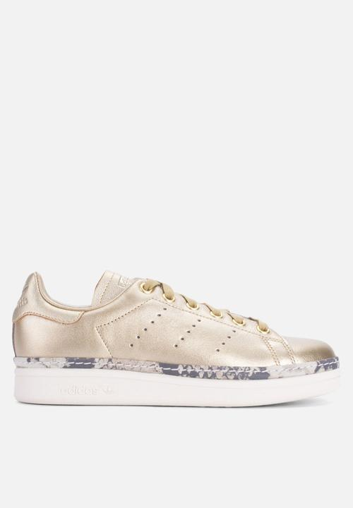 new arrival d8713 ff84b adidas Originals - Stan Smith New Bold W - gold off white