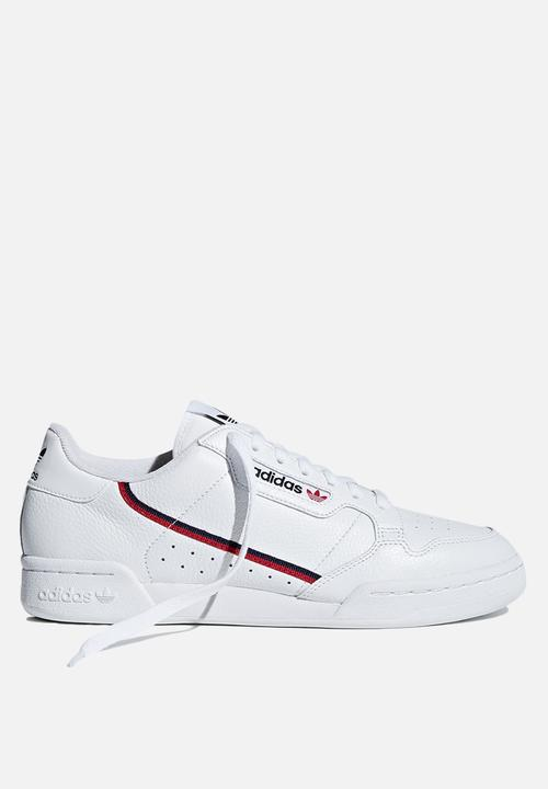 imagen dictador sal  Continental 80 - G27706 - white/scarlet/collegiate navy adidas Originals  Sneakers | Superbalist.com