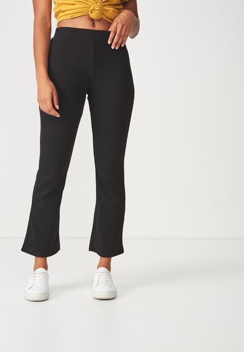 79995a9316 Jordyn kick flare pants - black Cotton On Trousers   Superbalist.com