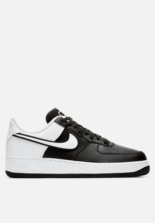half off 39645 2b155 Nike - Air Force 1  07 LV8 1- black white