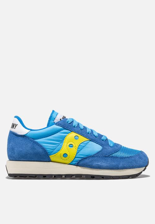 76d0f21472 Jazz Vintage - S70368-46 - blue/yellow Saucony Originals Sneakers ...