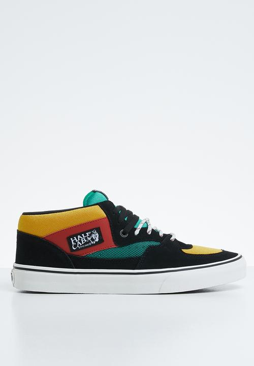ae80e105c2 UA Half cab - VA348EU8V - black multi Vans Sneakers