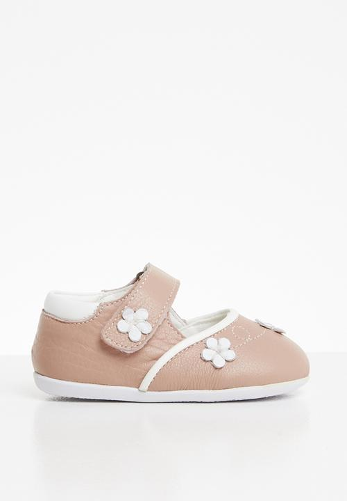 835b53ea9d64 Flower Printed Mary Jane Pump Pale Pink POP CANDY Shoes ...