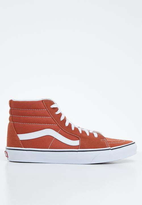 hot sauce/true white Vans Sneakers
