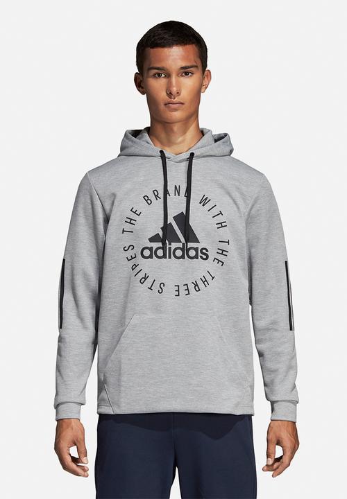 brand new 6b686 dfe1f adidas Performance - Sid pullover hoodie - grey