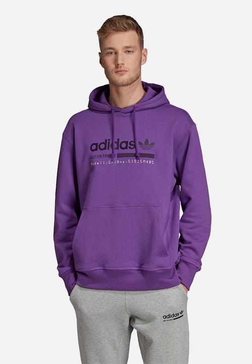 regimiento completar Pacífico  adidas Kaval GRP OTH hoodie - active purple adidas Originals ...