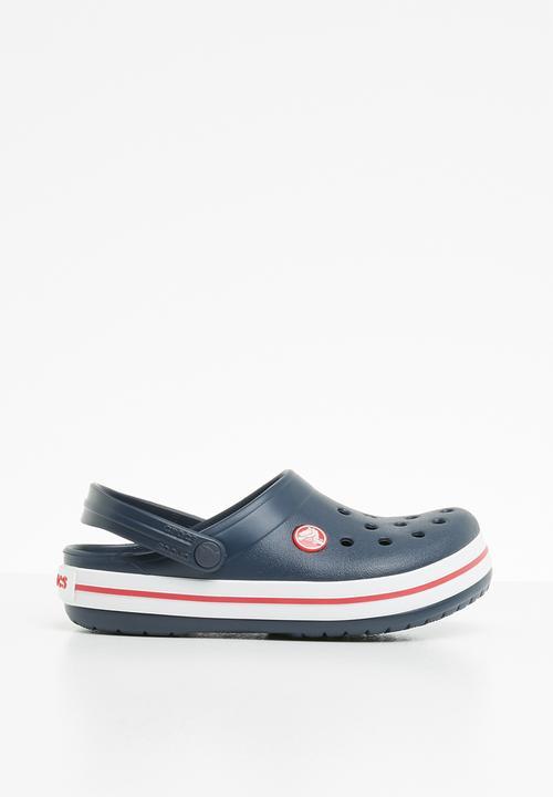 c3dbc1c3c1aed Kids crocband clog - navy red Crocs Shoes