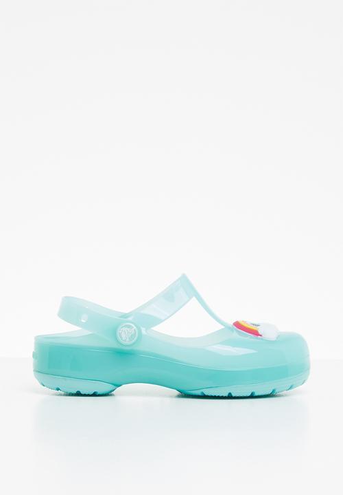 580805eb7d Kids crocs isabella charm clog - blue Crocs Shoes | Superbalist.com