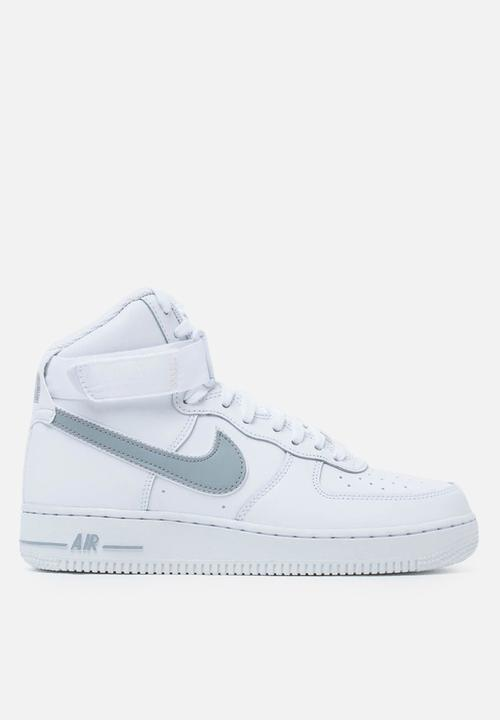 finest selection 61a0f a5239 Nike - Air Force 1 high  07 3 - white   wolf grey