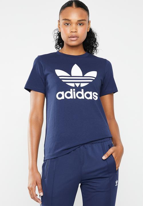 Adicolour classic tee - dark blue adidas Originals T-Shirts ... 4080fe48d