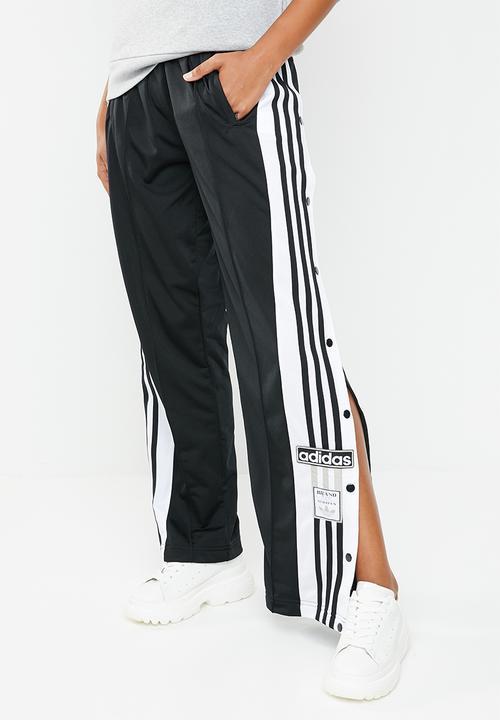 bdf5c4dc8e39 Adibreak heritage snap button pants - black adidas Originals Bottoms ...