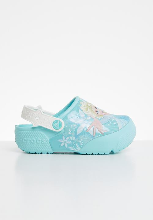 8ab582804bd Kids crocs frozen Elsa light - blue Crocs Shoes   Superbalist.com