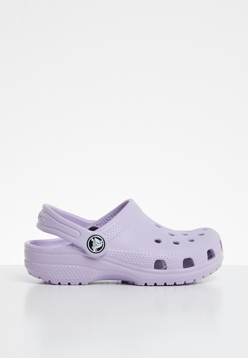 f4e4e43df Kids classic clog - purple Crocs Shoes