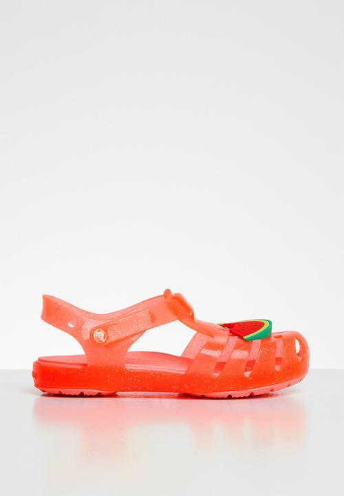 27432aaef Kids crocs Isabella charm sandal - orange Crocs Shoes
