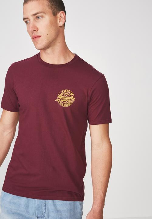 ad0b7138 Shinjuku jpn Tbar tee - port wine Cotton On T-Shirts & Vests ...