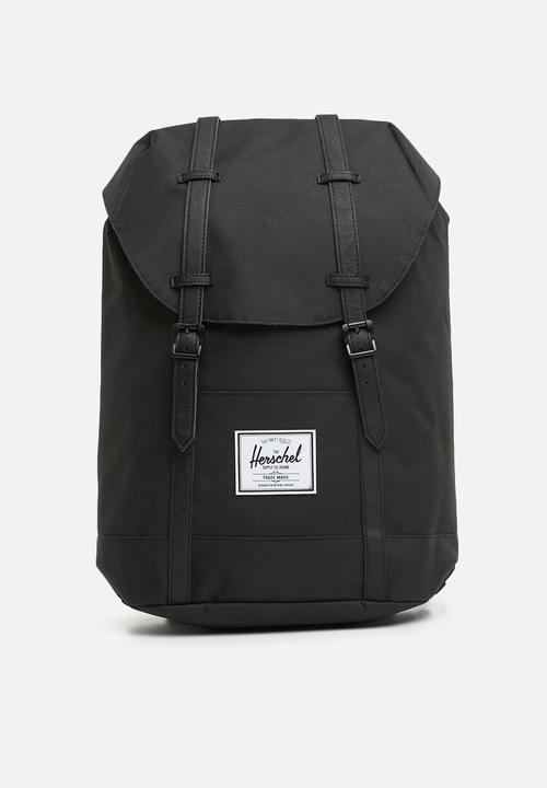 2c24515cc42 Retreat backpack - black Herschel Supply Co. Bags   Wallets ...