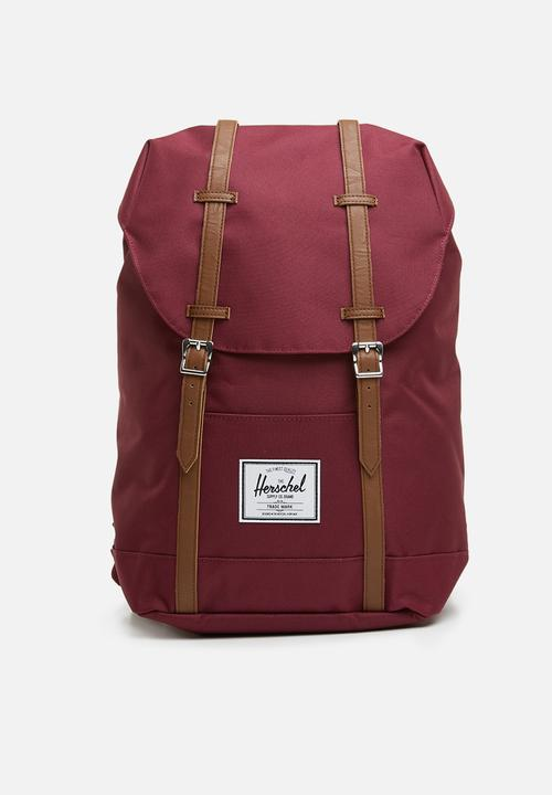 46e8f42f9ad Retreat backpack - burgundy Herschel Supply Co. Bags   Wallets ...