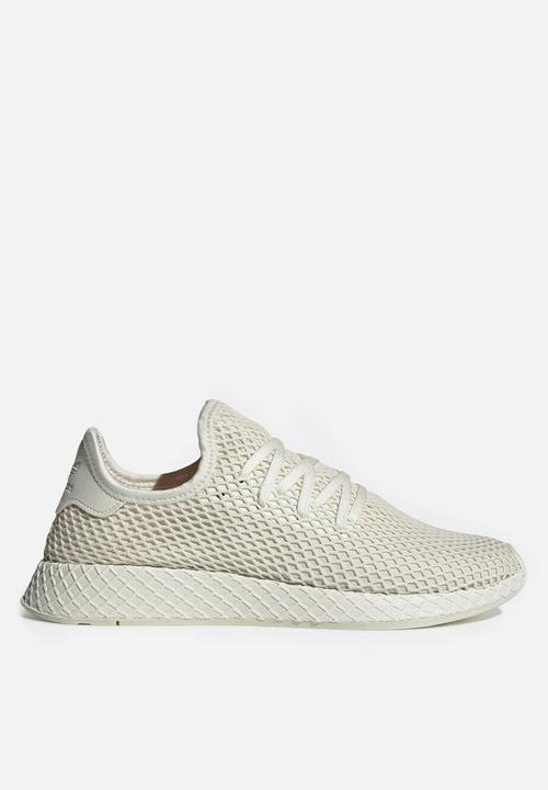 1e83b177 Deerupt Runner - BD7882 - off white/shock red adidas Originals ...