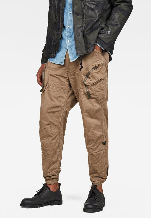 c5de4fcf850 Rovic 3D airforce relaxed pants - sahara G-Star RAW Pants & Chinos ...