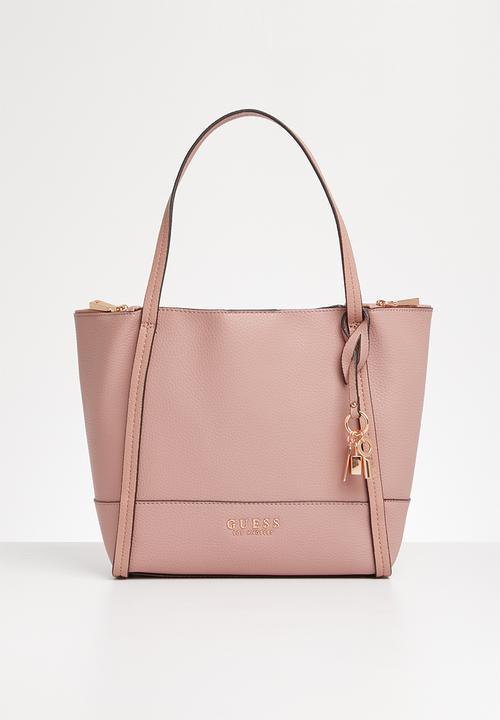 Heidi tote bag - pink GUESS Bags & Purses