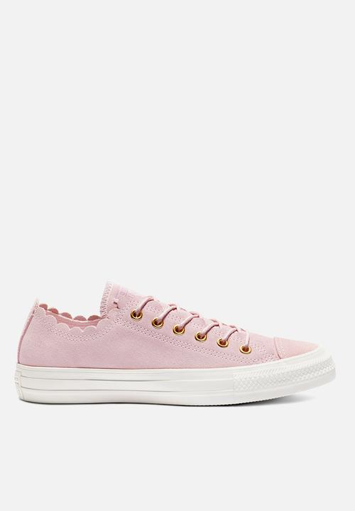 489c432ae97fc0 Chuck Taylor All Star Ox - 563416C - pink foam gold egret Converse ...