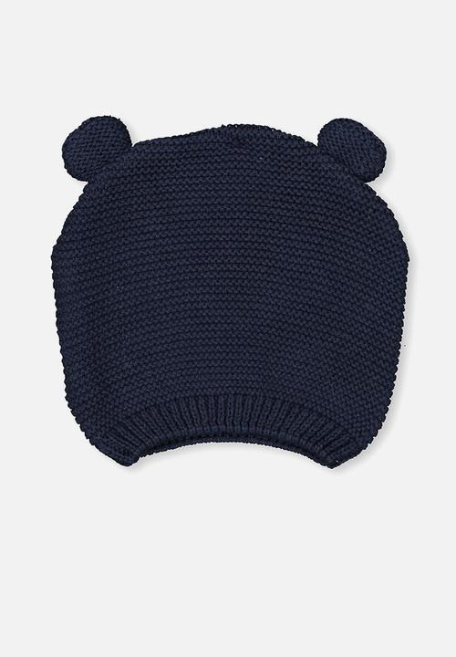 3ab4a8407e5 Baby knit beanie - bci Indian ink Cotton On Accessories ...