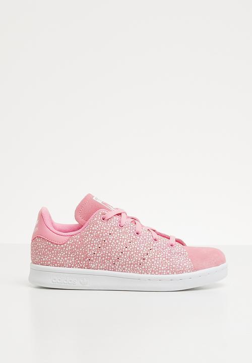 Stan smith C - light pink/white adidas