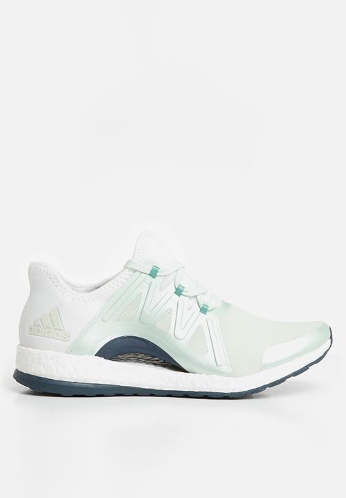 91e44f7283695 PureBOOST Xpose - BB1732 - crystal white green adidas Performance ...