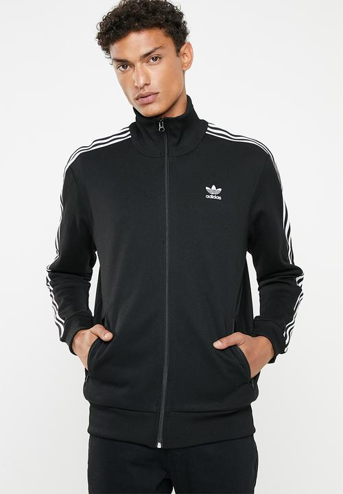 best sneakers casual shoes sale Beckenbauer tracksuit top - black & white