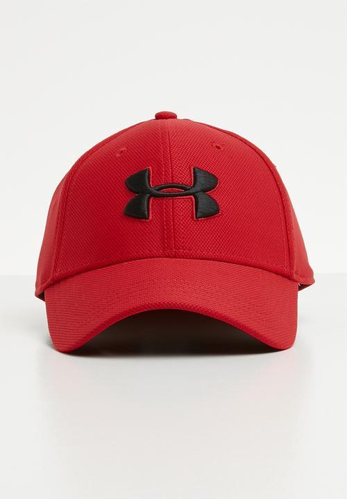 f92a76a844894 Men s blitzing 3.0 cap - red black Under Armour Headwear ...