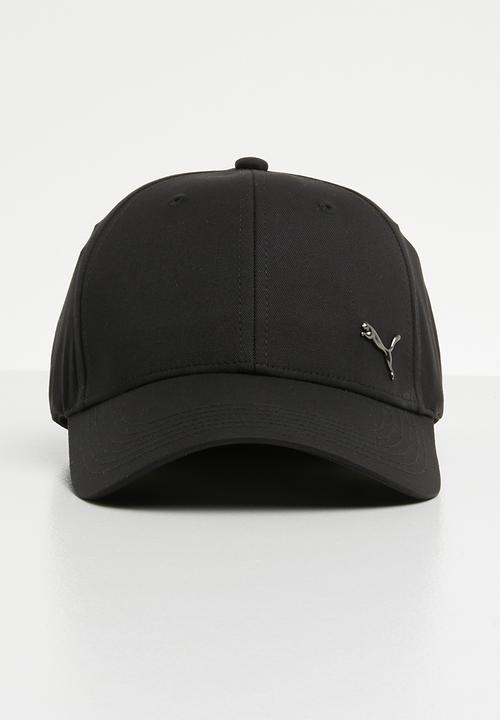 6420cdfa6b7 Puma metal cat cap - black PUMA Headwear