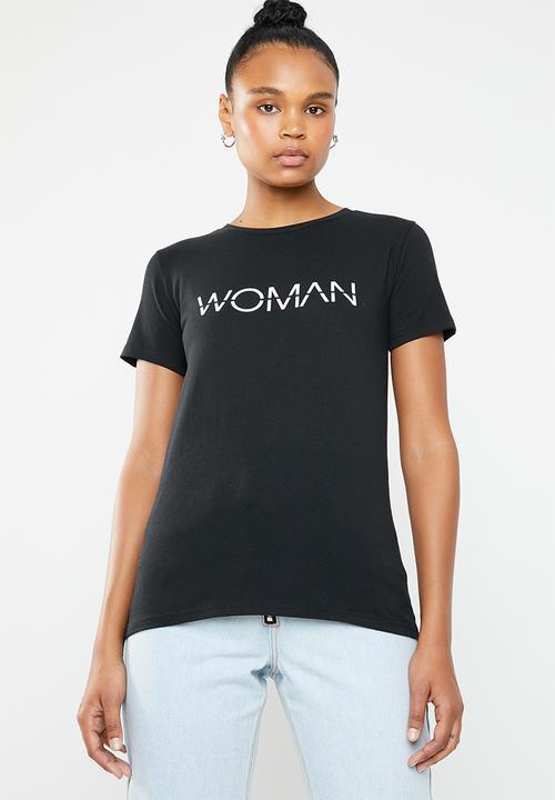 2b9fc5c54 Woman T-shirt - black STYLE REPUBLIC T-Shirts, Vests & Camis ...
