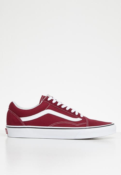 Vans old skool - rumba red   true white Vans Sneakers  b491e5dedb